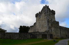 Tower Ruins of Ross Castle in Killarney National Park Stock Images
