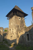 Tower Ruins of XIII century castle Stock Photography