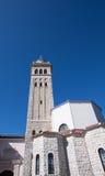 Tower sätta en klocka på Arkivfoton