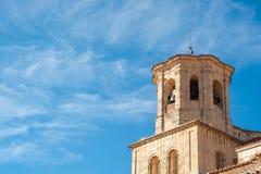 Tower sätta en klocka på Fotografering för Bildbyråer