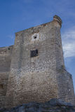 Tower 2 Sabiote. Castle Sabiote ( Province of Jaen, Spain ) was built in the thirteenth century. Finish that retains the current is not because of its inception Royalty Free Stock Image