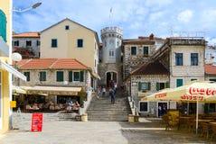 Free Tower Sahat Kula (Clock Tower) On Square Of Nikola Dzhurkovicha Stock Image - 60339661