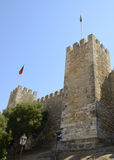 Tower of Saint George castle Royalty Free Stock Images