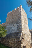 The tower. Saint Georges Castle. Stock Photos