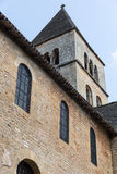 Tower of Saint-Léon-sur-Vezere's Church Stock Photography
