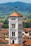 Tower of Saint Michael church in Lucca Royalty Free Stock Photography