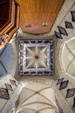 Tower of The Saint Nicholas' Church - interiour Stock Photography