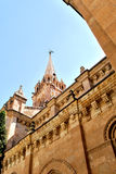 Tower of Salamanca old church Royalty Free Stock Photography