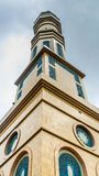 Tower of Samarinda Islamic Center, Indonesia. Looked from below Royalty Free Stock Photography