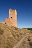 Tower of San Cristobal,walls,  S. XIV ,. Tower of San Cristobal walls S. XIV ,Daroca. Zaragoza province, Aragon, Spain Stock Photos