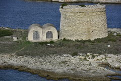 Tower San Felipet, Menorca, Spain Stock Photo