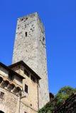 Tower, San Gimignano Stock Photos