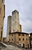 Tower in San Gimignano, Italy Royalty Free Stock Photos