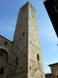 Tower in San Gimignano Stock Photos