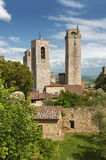 Tower in San Gimignano,Tuscany, Italy Stock Photography