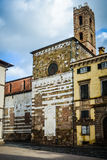 The tower of San Giovanna, Lucca, Italy Royalty Free Stock Image