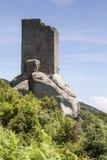 Tower San Giovanni near Sant Ilario, Torre di San Giovanni, Elba, Tuscany, Italy Royalty Free Stock Images