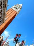 Tower of San Marco square in Venice  - italy Stock Images
