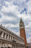 Tower in San Marco Square in Venice, Italy Royalty Free Stock Photography