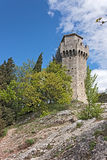 Tower of San Marino Stock Photography