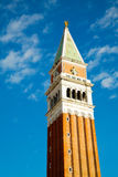 Tower at San Mark's square in Venice Royalty Free Stock Photos