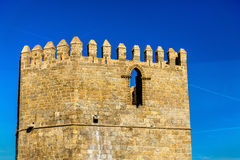 Tower of San Martin bridge in Toledo, Spain Stock Photography