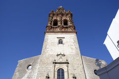 Tower of San Miguel church Stock Photos