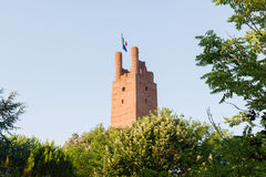 Tower in san miniato Stock Images
