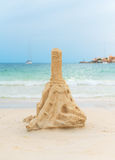 Tower from sand. Stock Image