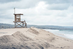 Tower and Sand Sunes Stock Photos