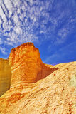 Tower from sandstone. Stock Photo