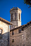 Tower of Sant Miquel´s church Stock Photos
