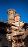 Tower of Sant Miquel´s church Royalty Free Stock Image
