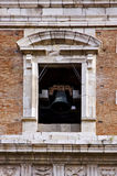 tower in santa chiara naples and the bell Royalty Free Stock Images