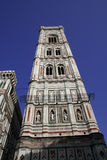 Tower of Santa Maria del Fiore church. Italy Stock Photos