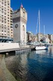 The tower of Savona stock images