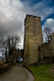 Tower of Schaumburg Castle in Germany Royalty Free Stock Photos