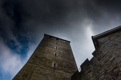 Tower of Schaumburg Castle in Germany Stock Photography