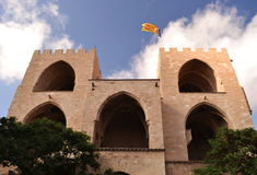 The tower of Serrano - Valencia Spain Royalty Free Stock Image