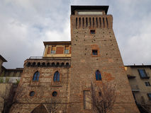 Tower of Settimo in Settimo Torinese Stock Image