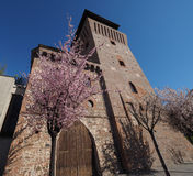 Tower of Settimo in Settimo Torinese Stock Photo