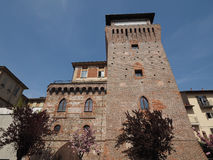 Tower of Settimo in Settimo Torinese Stock Images