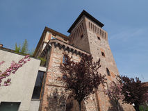 Tower of Settimo in Settimo Torinese Royalty Free Stock Photography