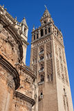 Tower of the Seville Cathedral Stock Photos