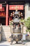Tower shape incense burner Stock Images