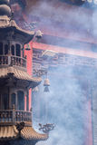 Tower shape incense burner Stock Image