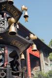 Tower shape incense burner Royalty Free Stock Photo