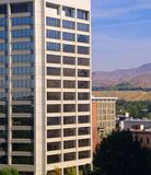 Tower Side Windows. The Simplot Building in downtown Boise, ID as viewed from the side Stock Photography