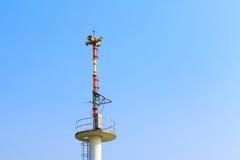Tower signal warning speaker Royalty Free Stock Image