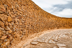 Tower of Silence wall Royalty Free Stock Photography